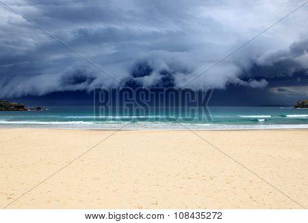 Bondi Beach Storm - Sydney Australia