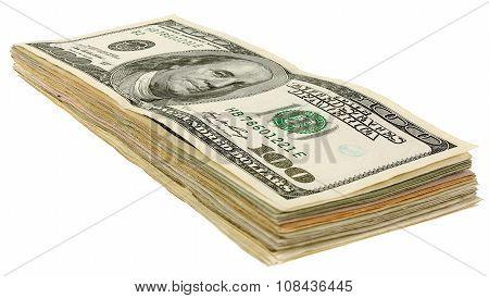 Stack Of Dollars Banknotes_100
