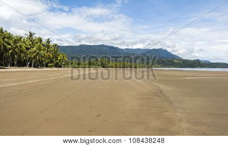Beach in Marino Ballena Parc, Costa Rica