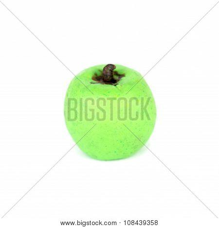 Plasticine Apple