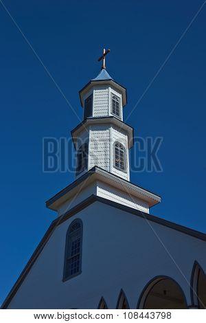 Church in Dalcahue - Chiloe - Chile