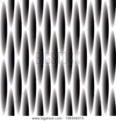 Seamless pattern for background of ovals