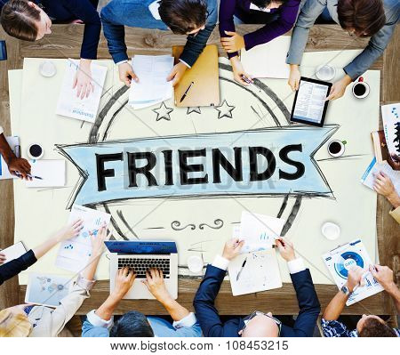 Friends Friendship Relationship Togetherness Concept