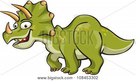Funny Triceratops