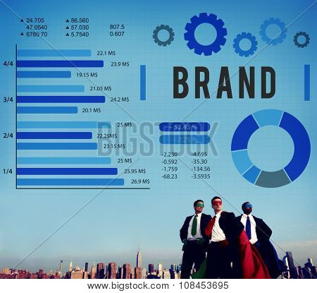 Brand Branding Copyright Advertising Banner Concept