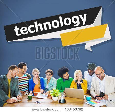 Technology Internet Communication Connection Concept