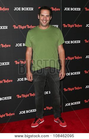 NEW YORK-NOV 16: Actor Seth Herzog attends the New York Red Carpet screening of Columbia Pictures'