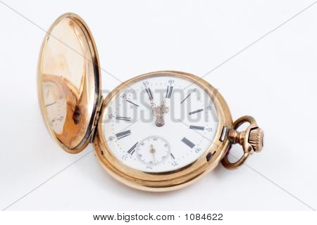 Old Golden Clock