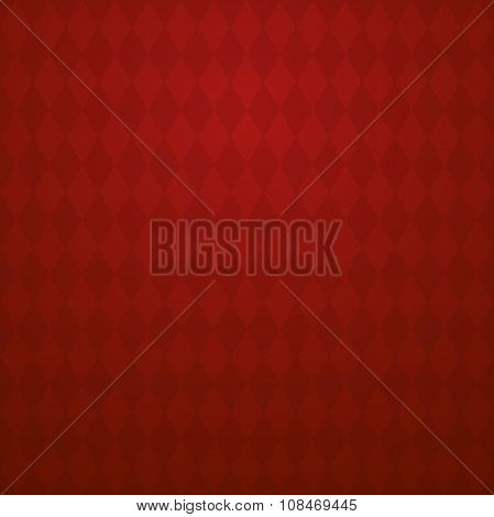 Vector background with light and dark red rhombus