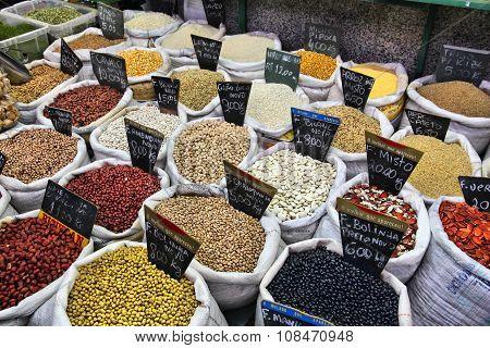 Bean Types