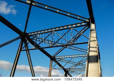 metal bridge structure