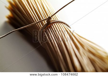 Spaghetti Of Whole Wheat Flour