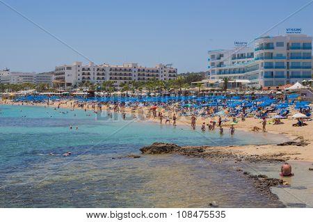 Protaras Beach, Cyprus
