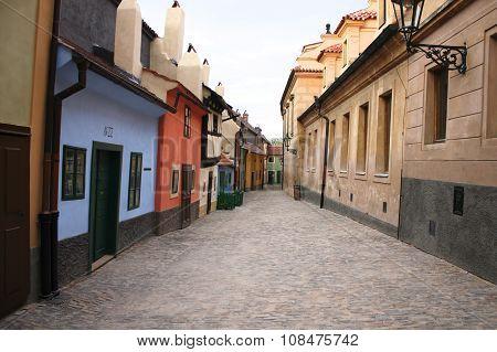 Golden Lane In Prague
