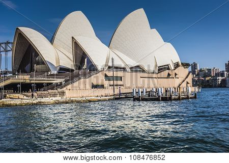 Sydney - October 27 : Opera House On October 27, 2015 In Sydney. It Is Identified As One Of The 20Th