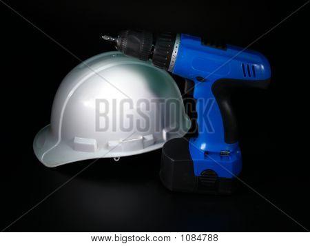 Hardhat & Drill