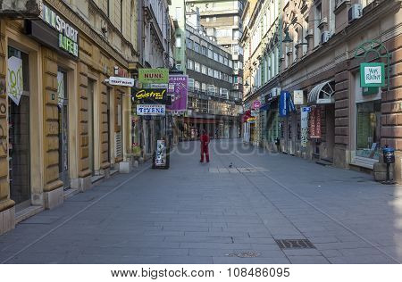 Pedestrian Zone In Sarajevo 2