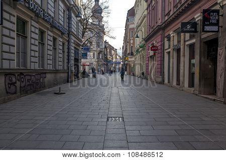 Sarejevo Pedestrian Zone 02
