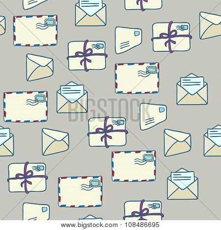Seamless Mail Pattern