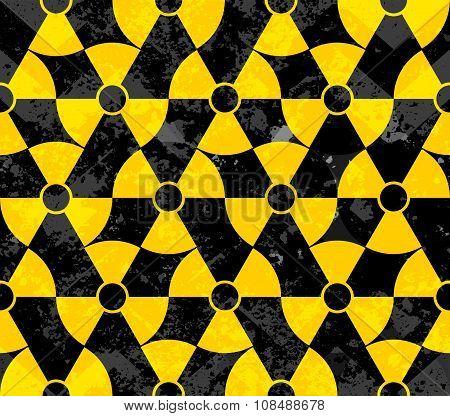 Danger geometric background