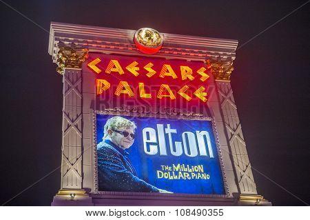 Las Vegas , Elton John