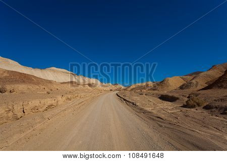 Mustard Canyon Drive in Death Valley