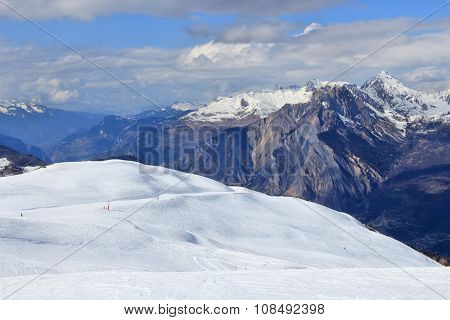 French Alps Winter
