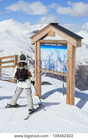 Ski Piste Map