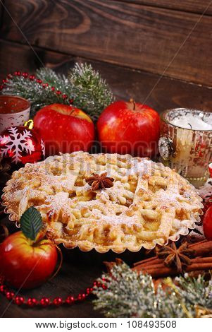 Apple Pie For Christmas