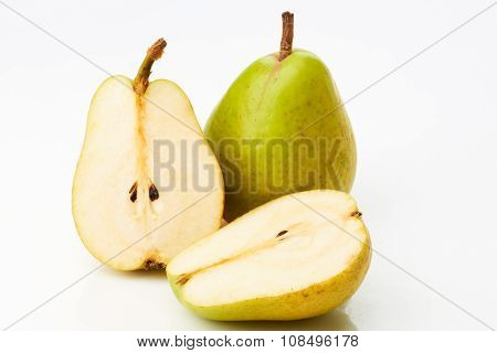 Pear and two half