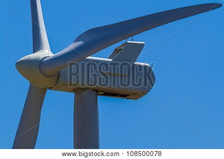A Huge High Tech Industrial Wind Turbine
