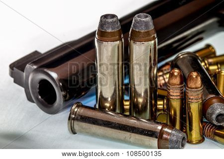 Gun and Ammunition