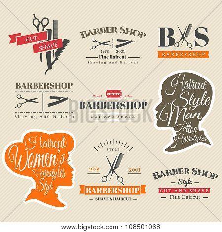 Barbershop signs