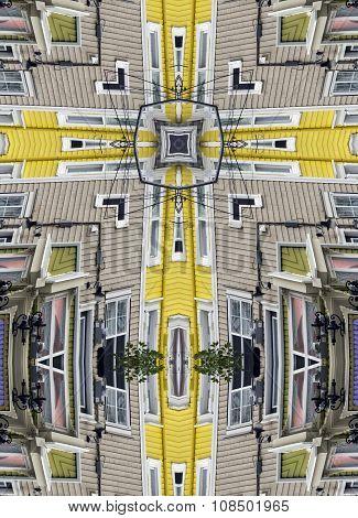kaleidoscope cross: St. John's houses