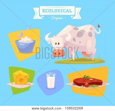 Farm animal and products made out of them