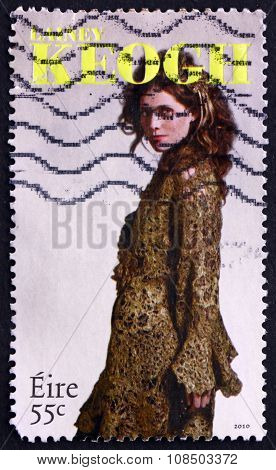 Postage Stamp Ireland 2010 Lainey Keogh, Irish Fashion Designer