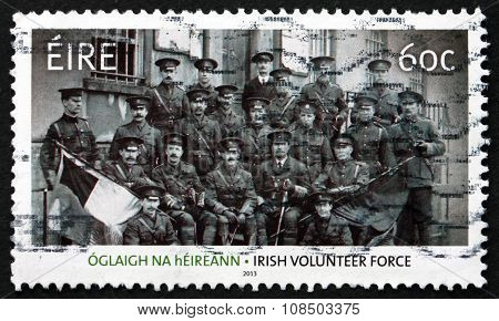 Postage Stamp Ireland 2013 Soldiers