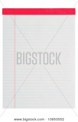 Blank Stationary Notepad