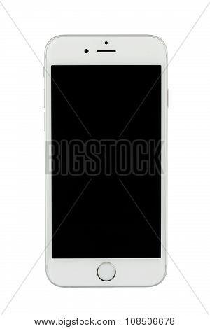 Varna, Bulgaria - November 17, 2015: Cell Phone Model Iphone 6S Has Led-backlit Ips Lcd, 12 Mp Camer