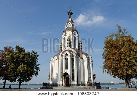 The Temple In Honor Of Saint John The Baptist