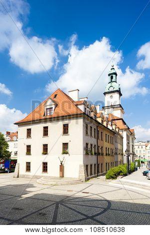 town hall of Jelenia Gora, Silesia, Poland