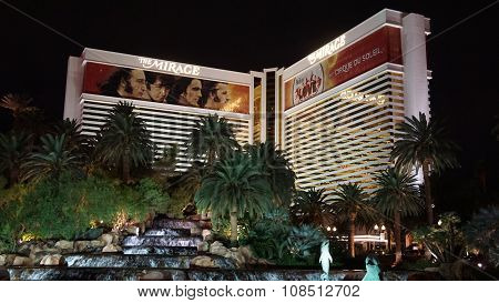 Mirage Hotel and Casino on the Strip in Las Vegas, Nevada