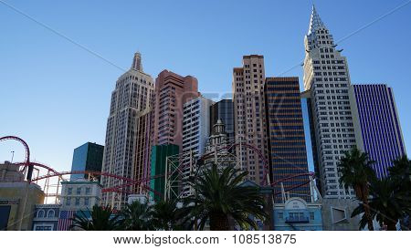 New York New York hotel-casino in Las Vegas