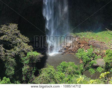Waterfall in Chapada dos Guimaraes, Brazil