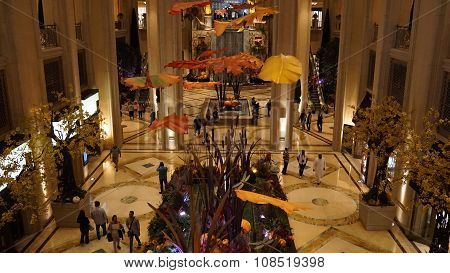 The Palazzo luxury hotel and casino resort in Las Vegas