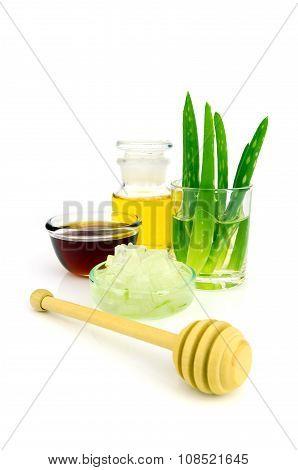 Aloe Vera Hair And Facial Treatment Recipe.