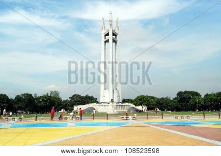 Quezon City Memorial Circle Shrine in Quezon City, Philippines