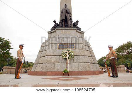 Rizal Park in Roxas Boulevard, Manila, Philippines