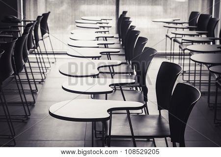 Lecture Room With Empty Seats