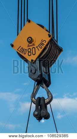 80 Tons Crane Pulley